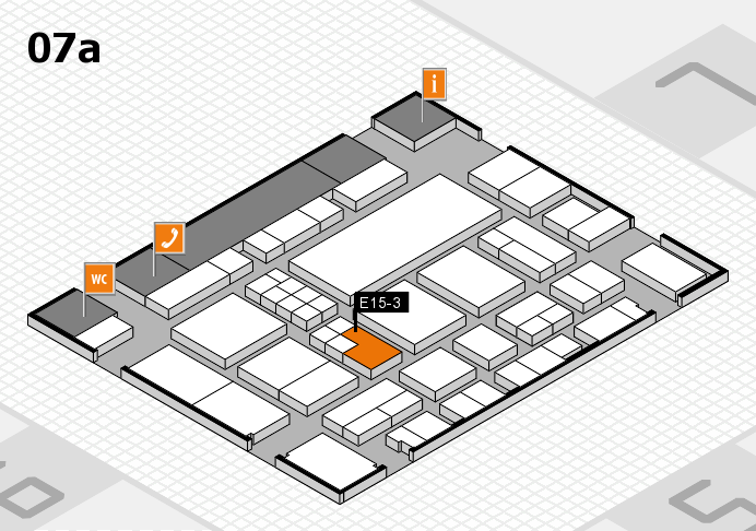 EuroShop 2017 hall map (Hall 7a): stand E15-3