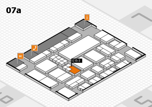 EuroShop 2017 hall map (Hall 7a): stand E15-3