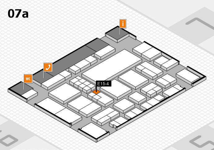 EuroShop 2017 hall map (Hall 7a): stand E15-4