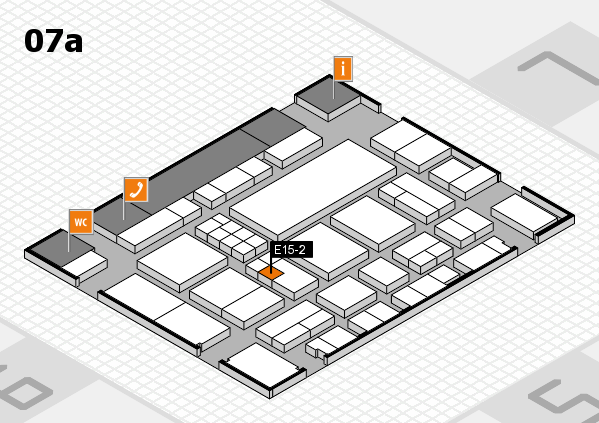 EuroShop 2017 hall map (Hall 7a): stand E15-2
