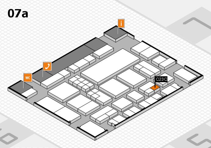EuroShop 2017 Hallenplan (Halle 7a): Stand C23C