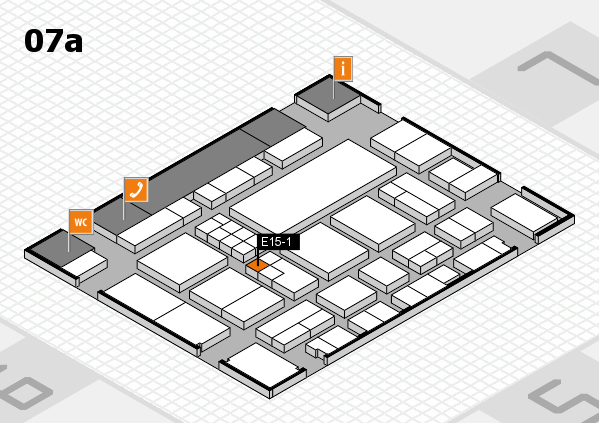 EuroShop 2017 hall map (Hall 7a): stand E15-1