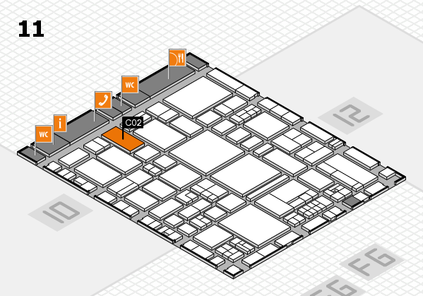 EuroShop 2017 hall map (Hall 11): stand C02