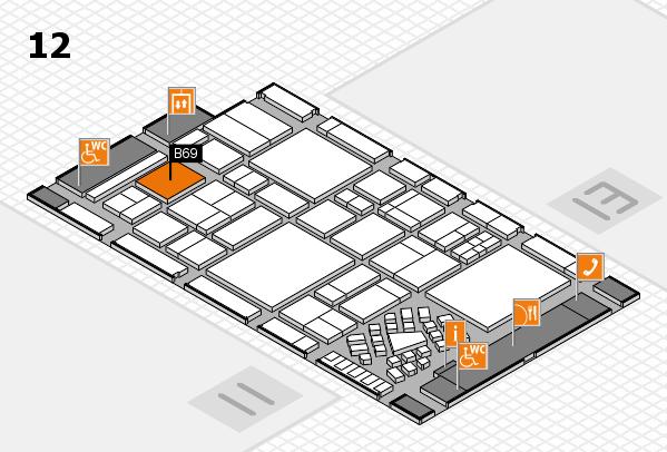 EuroShop 2017 Hallenplan (Halle 12): Stand B69