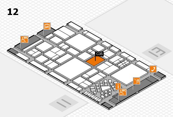 EuroShop 2017 Hallenplan (Halle 12): Stand C35