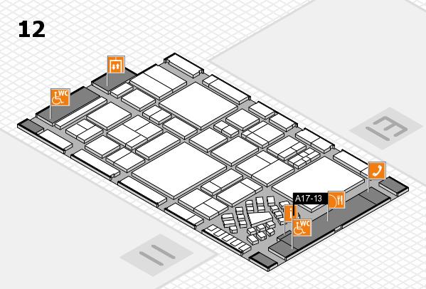 EuroShop 2017 hall map (Hall 12): stand A17-13