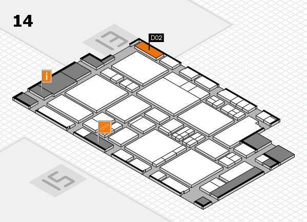 EuroShop 2017 hall map (Hall 14): stand D02