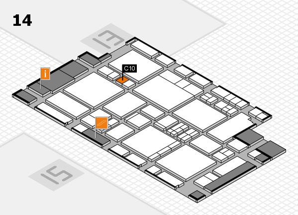 EuroShop 2017 hall map (Hall 14): stand C10