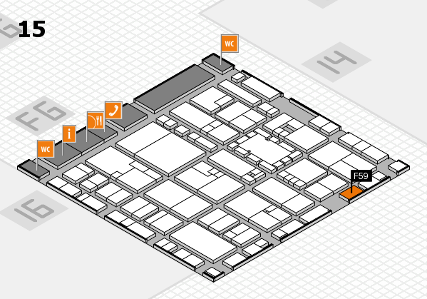 EuroShop 2017 hall map (Hall 15): stand F59