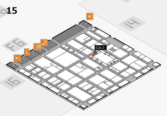 EuroShop 2017 hall map (Hall 15): stand E24-3
