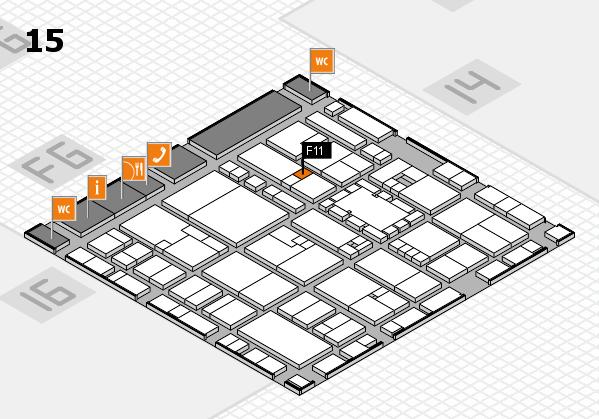 EuroShop 2017 hall map (Hall 15): stand F11