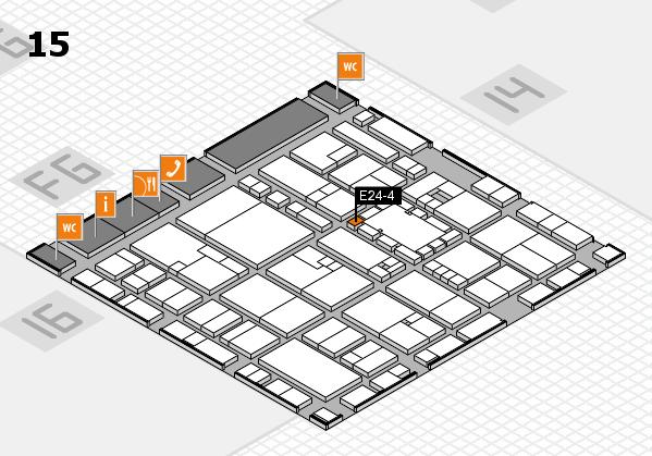 EuroShop 2017 hall map (Hall 15): stand E24-4