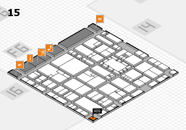 EuroShop 2017 hall map (Hall 15): stand A59