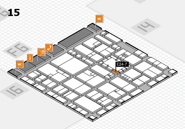 EuroShop 2017 hall map (Hall 15): stand E24-7