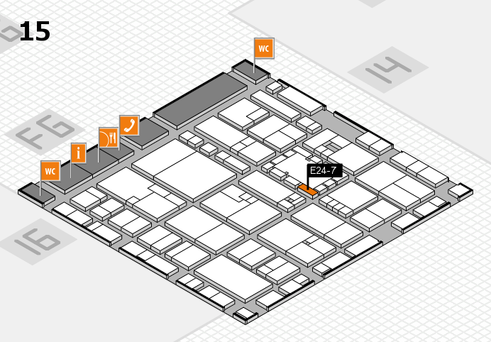 EuroShop 2017 hall map (Hall 15): stand E24-7