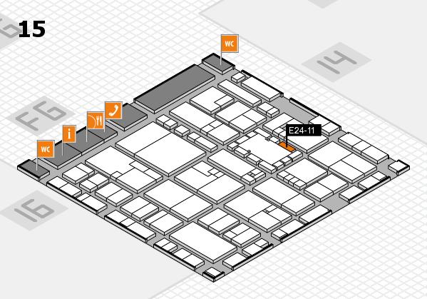 EuroShop 2017 hall map (Hall 15): stand E24-11