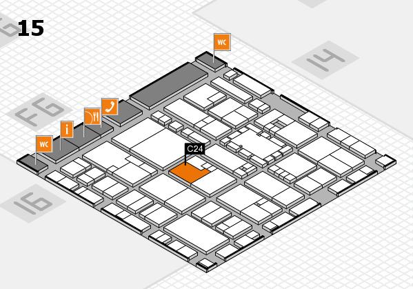 EuroShop 2017 hall map (Hall 15): stand C24