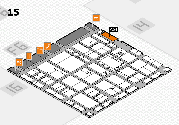 EuroShop 2017 hall map (Hall 15): stand G04
