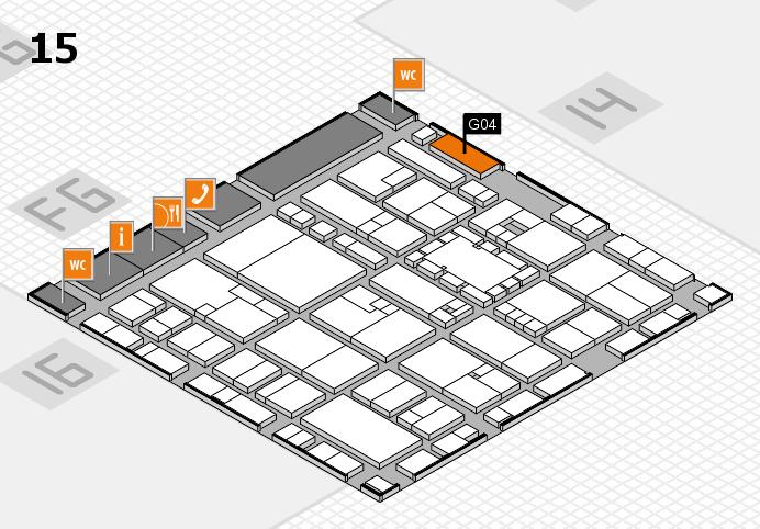 EuroShop 2017 hall map (Hall 15): stand G04