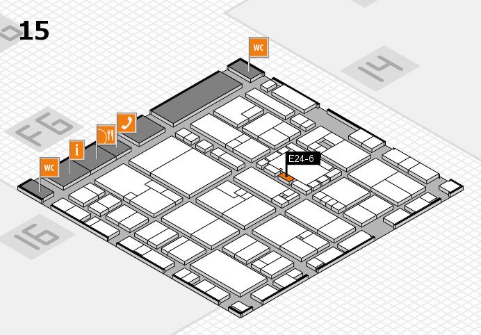 EuroShop 2017 hall map (Hall 15): stand E24-6