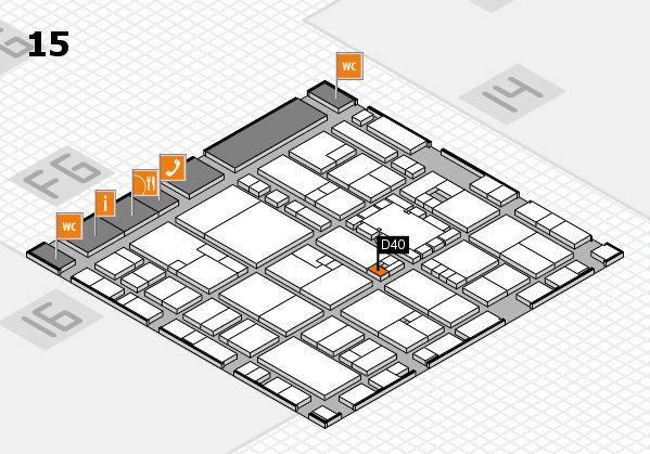 EuroShop 2017 hall map (Hall 15): stand D40