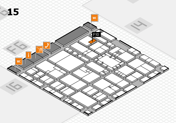 EuroShop 2017 hall map (Hall 15): stand F10