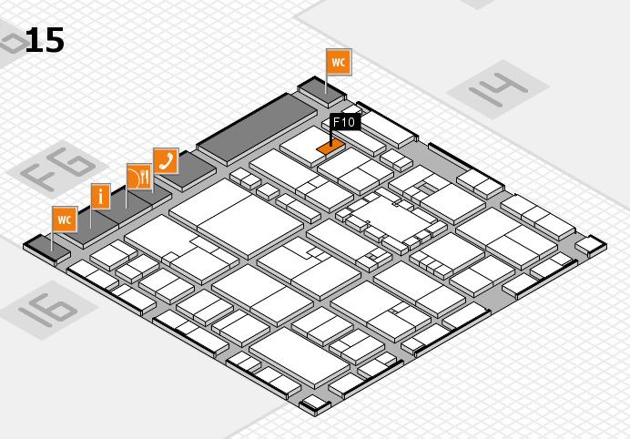 EuroShop 2017 hall map (Hall 15): stand F10
