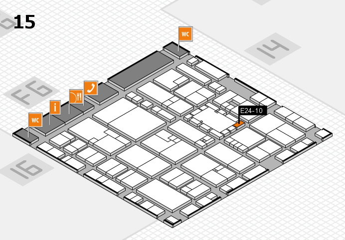 EuroShop 2017 hall map (Hall 15): stand E24-10