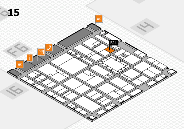 EuroShop 2017 hall map (Hall 15): stand F24