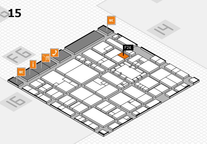 EuroShop 2017 hall map (Hall 15): stand F24