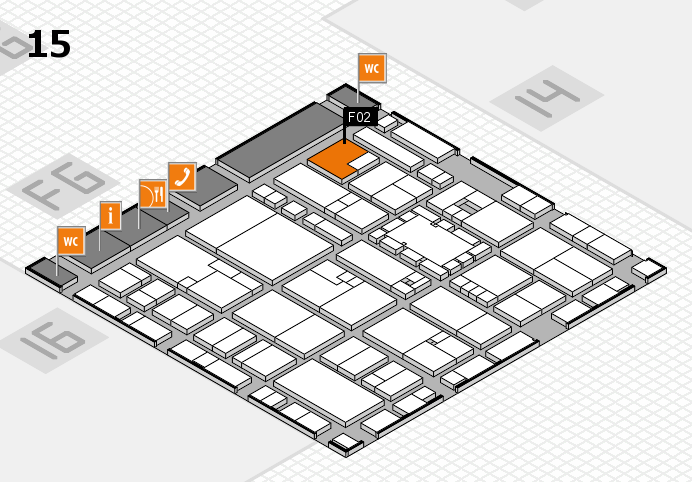 EuroShop 2017 hall map (Hall 15): stand F02