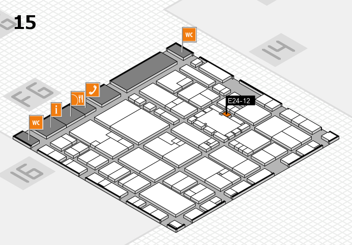 EuroShop 2017 hall map (Hall 15): stand E24-12