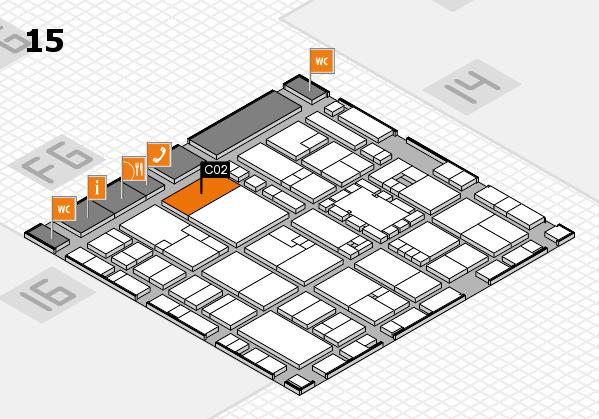 EuroShop 2017 hall map (Hall 15): stand C02