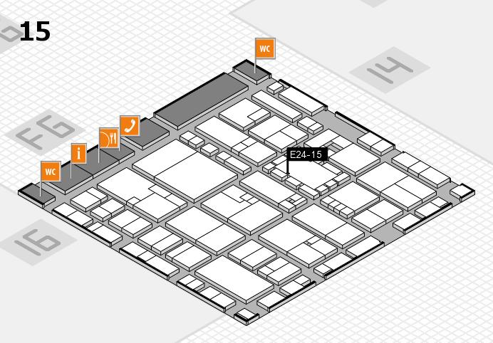 EuroShop 2017 hall map (Hall 15): stand E24-15