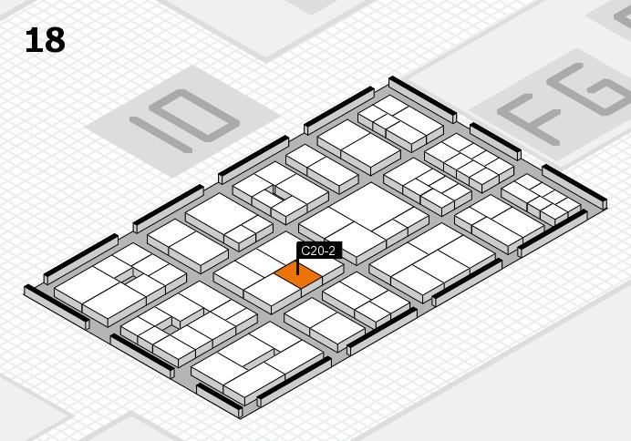 EuroShop 2017 Hallenplan (Halle 18): Stand C20-2