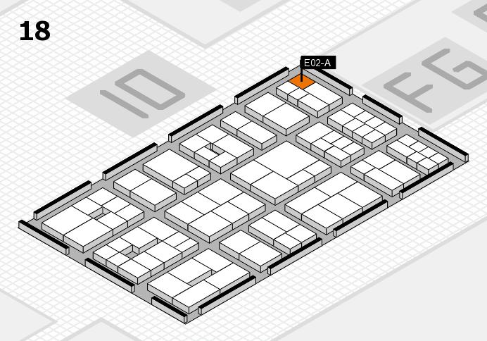 EuroShop 2017 Hallenplan (Halle 18): Stand E02-A