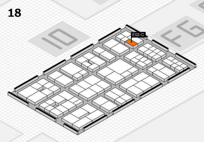 EuroShop 2017 Hallenplan (Halle 18): Stand E02-C