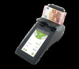 Geldzählmaschine mit Touchscreen