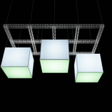 Illuminated eltex cubes