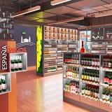 lighting solutions wine shop DWD Concepts