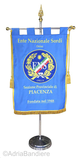 Flags EMBROIDERED PENNANT