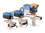 Three-way ball valves