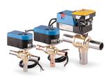 Three-way ball valves