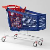Polysteel shopping trolleys