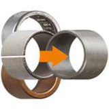 Maintenance-free iglidur® plain bearings