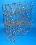 Stil Metal Stacking Basket