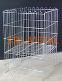 Stil Metal Folding Wire Basket