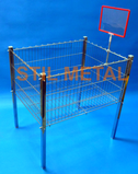 Stil Metal Wire Basket