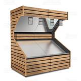 Wooden Vegetable Unit