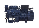 Semi-hermetic compressors double stage
